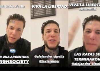 Alex Caniggia abandona el espectáculo para lanzarse a la política • Canal C