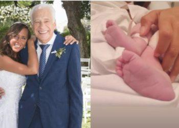 Alberto Cormillot fue papá a los 83 años: nació Emilio, su hijo con Estefanía Pasquini • Canal C