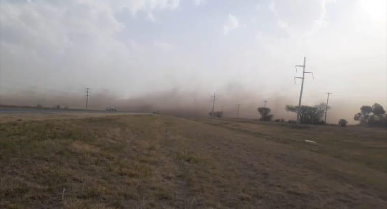 Terrible accidente en cadena la ruta 19 a causa del viento • Canal C